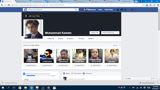 Facebook Profile  Picture  Done- Facebbok