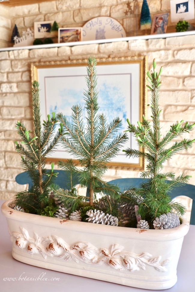 Christmas to winter decor from Nordic inspiration