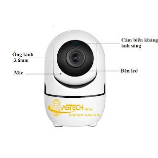 Camera wifi giá rẻ hà nội TUYSMART TY288