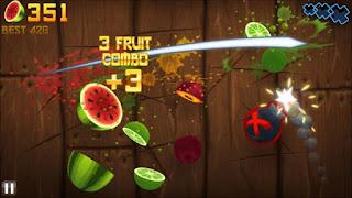 تحميل لعبة Fruit Ninja للاندرويد