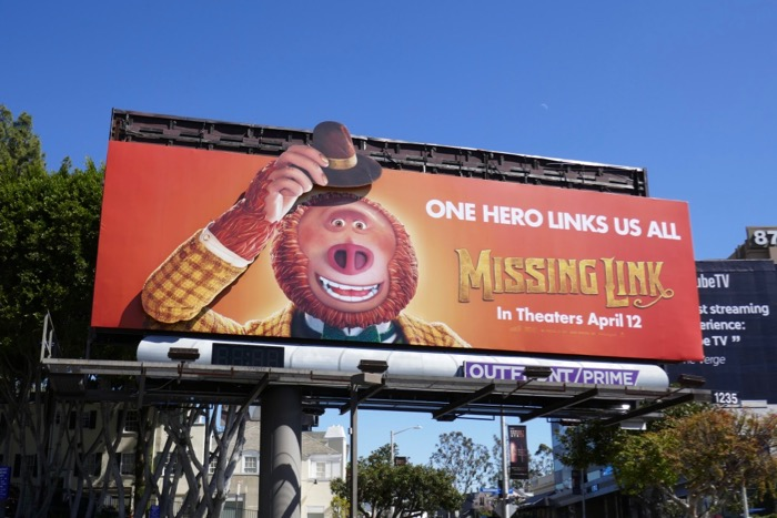 Missing Link motorised moving arm billboard