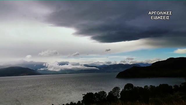 """""""Θάλεια"""" το όνομα της τετραήμερης κακοκαιρίας με βροχές, καταιγίδες και χαλάζι"""