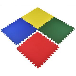 Greatmats Play Mats Foam Puzzle Tiles colors