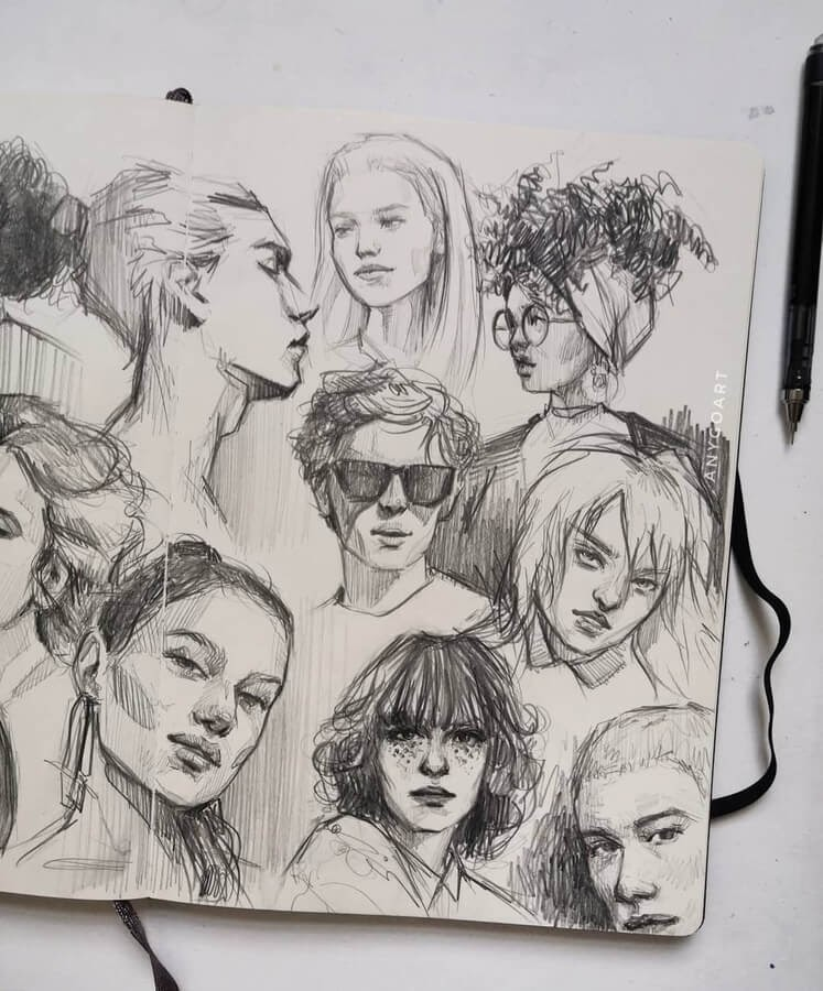06-Drawing-studies-2-Anya-Goart-www-designstack-co