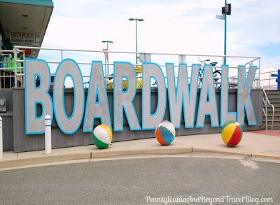 Wildwood Crest Boardwalk Entrance in New Jersey