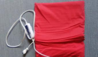 Almohadilla eléctrica. Beneficios y contraindicaciones