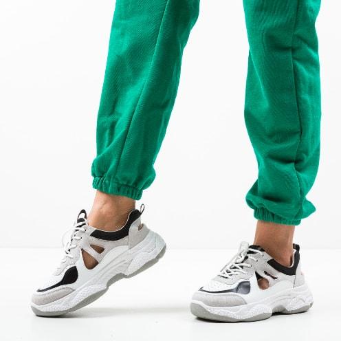 Pantofi sport cu talpa groasa moderni multicolori