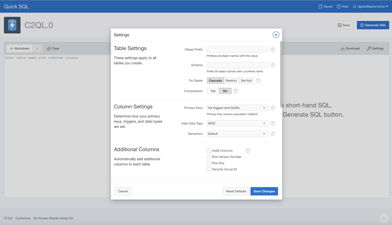 Dimitri Gielis Blog (Oracle Application Express - APEX): Reverse
