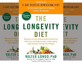 Valter Longo's Book: The Longevity Diet - All the health benefits of fasting without the hunger