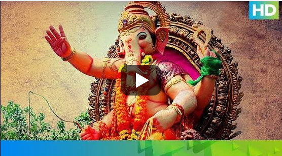 Ganapati Video Song, Lyrics Naina Taras Gaye Mulakat Ke Liye