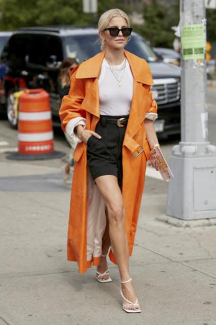Модные образы яркой одежды 13