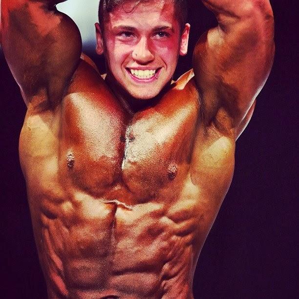 Daily Bodybuilding Motivation: 19 Year Old Kuba Cielen