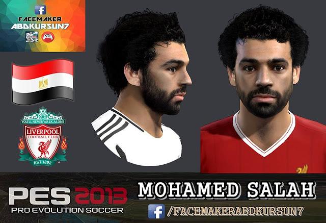 PES 2013 MOHAMED SALAH Face