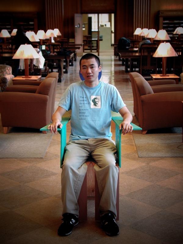 Chair and Myself