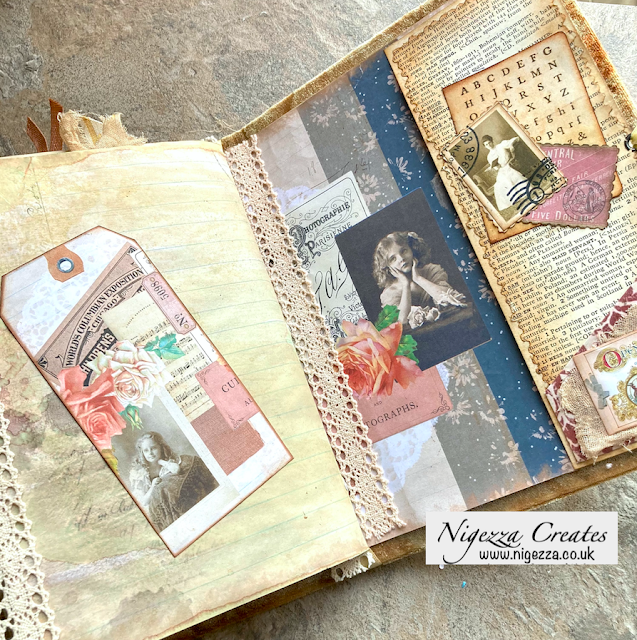 Vintage Days Journal Cover & Completion