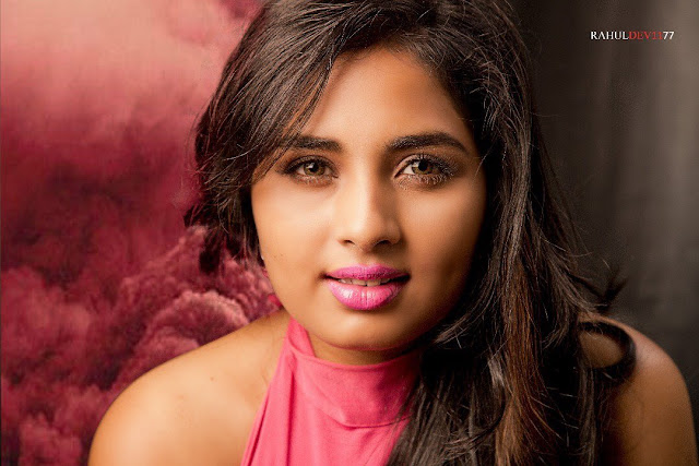 Actress Srushti Dange Latest Photoshoot Stills 2017