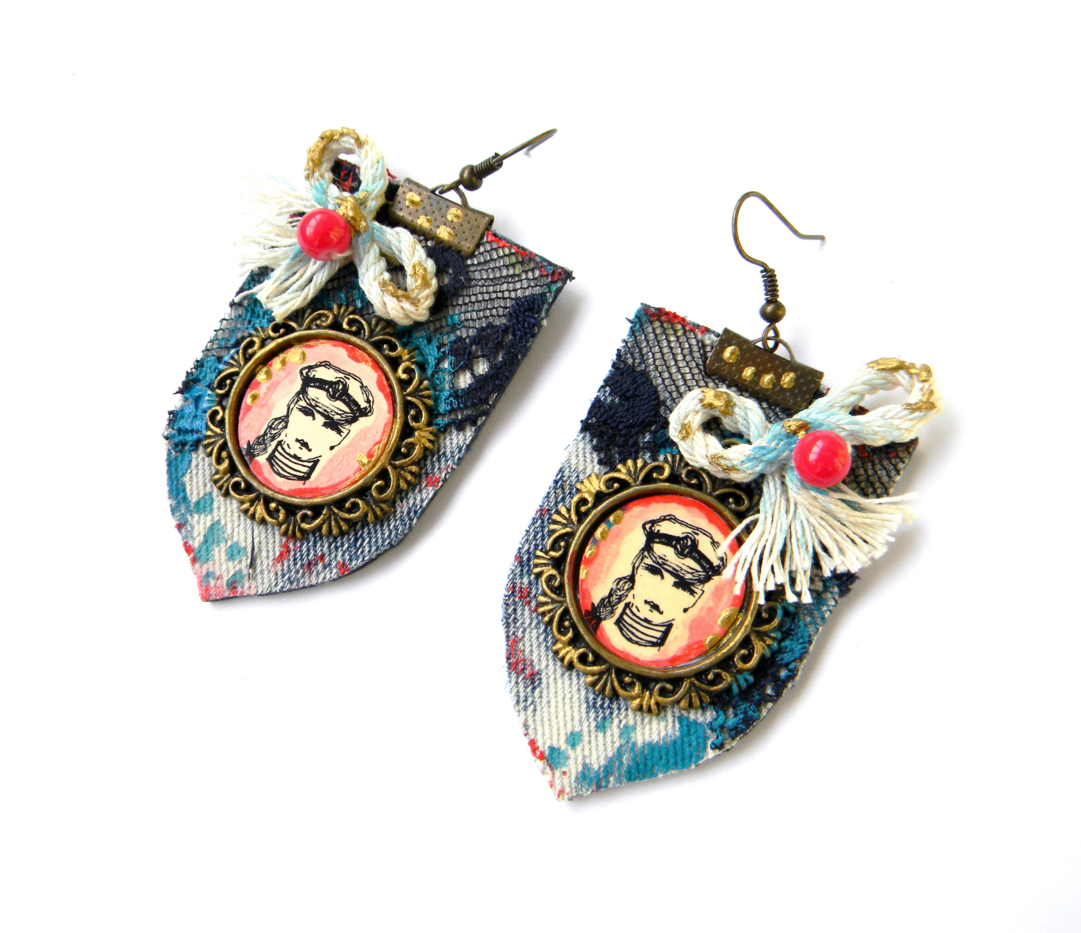 Unique Jewelry Handmade Earrings Fashion Jewelry
