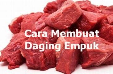 tips memasak daging supaya cepat empuk