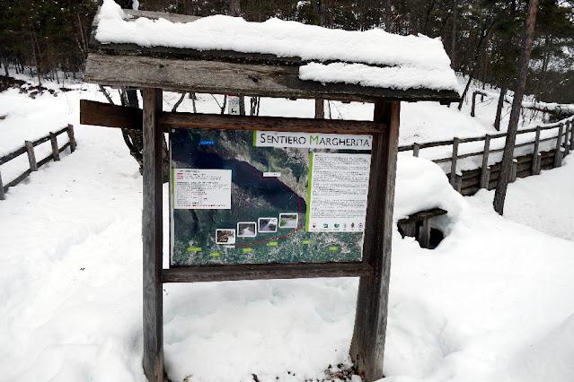 escursioni passeggiate invernali neve val di non