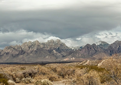 las cruces new mexico organ mountains snow in march 2021