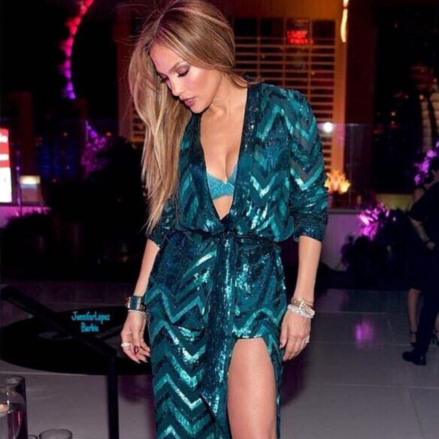 New images from birthday Jennifer Lopez