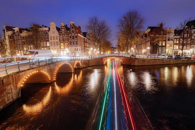 Viajando por Ámsterdam