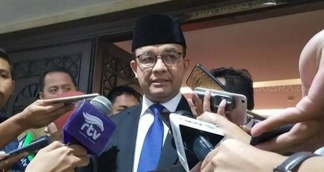 Anies Ta'ati Keputusan Pemerintah Bubarkan HTI, Tapi Tak Mempermasalahkan  Felix Siauw Ceramah di Masjid Fatahillah