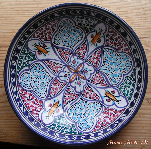 Tunisian Bowl - Tunesische Schüssel