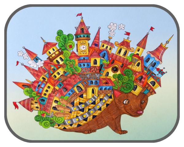 Ars Edition: Zauberhafte Fantasiewelten zum Ausmalen