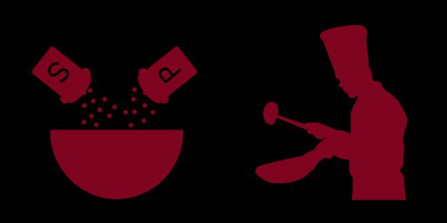 プロの調理イメージによる弊害
