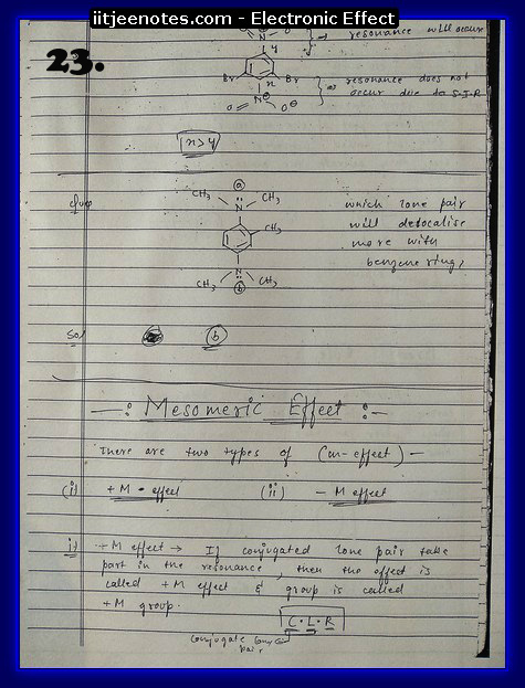 Electronic Effect Notes8