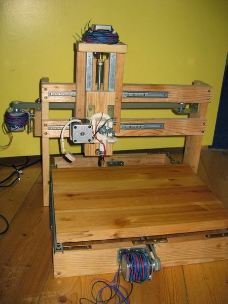 DIY 3D Printing: DIY 3d Printers Made From Wood