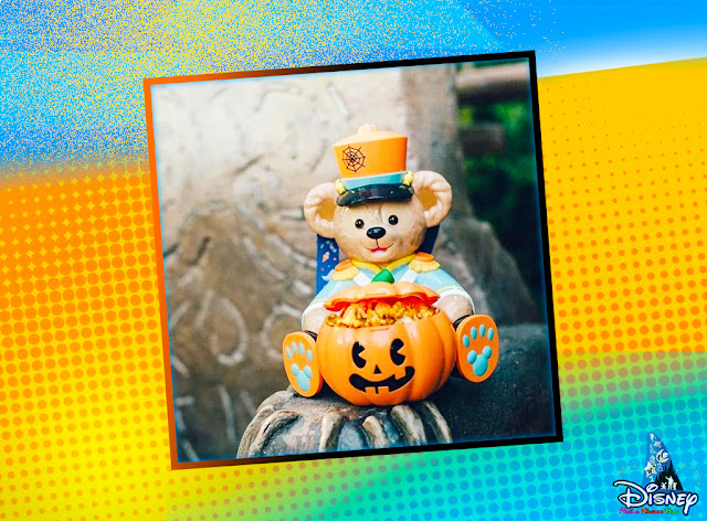 Shanghai Disneyland A Wicked Fun Halloween 2020 food beverage event Duffy Halloween Popcorn Bucket