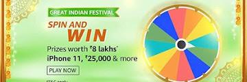 Amazon Spin Quiz - What is the capital of Uttar-Pradesh?