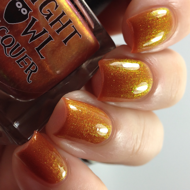 Night Owl Lacquer-Juice of a Jack-o-Lantern