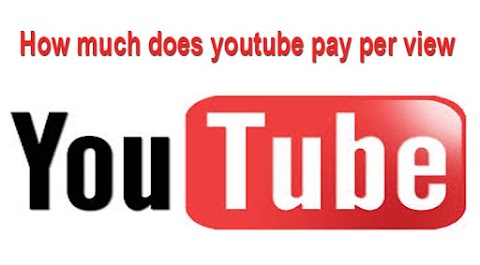 How much does youtube pay per view?