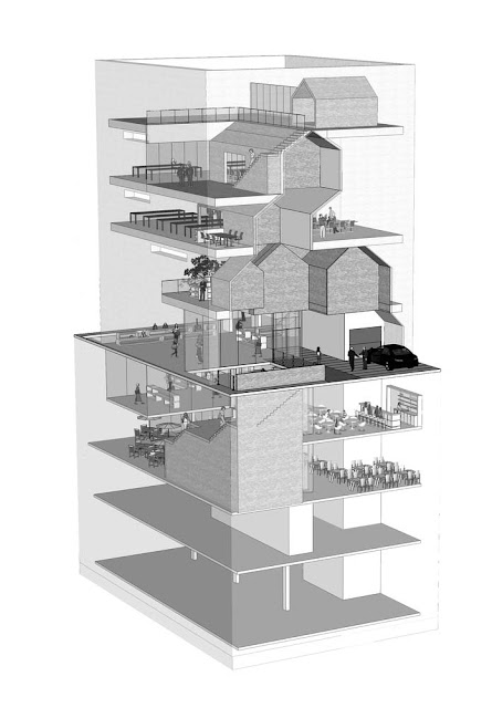 diseño en 3d interiores y sótano