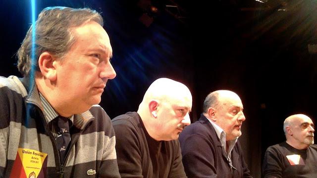 Pedro García Bilbao a la izquierda de la foto