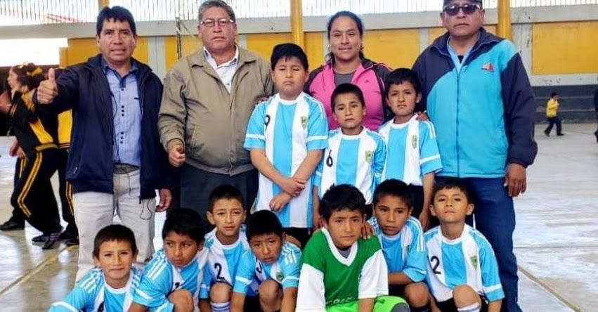 JDEN: IE N° 80523 Campeón en Futsal de los Juegos Deportivos Escolares nacionales 2019 - Santiago de Chuco