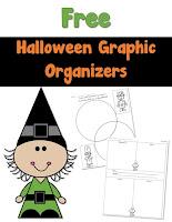 Free Halloween Graph Organizers