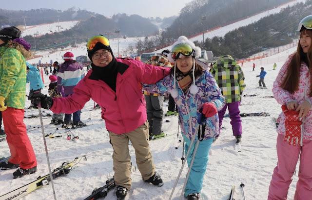 出乎意料之外!2018韓國首爾滑雪跟團過程大公開|洪川大明滑雪場 IMG 9638