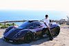 Lewis Hamilton Takes His Pagani for a Spin