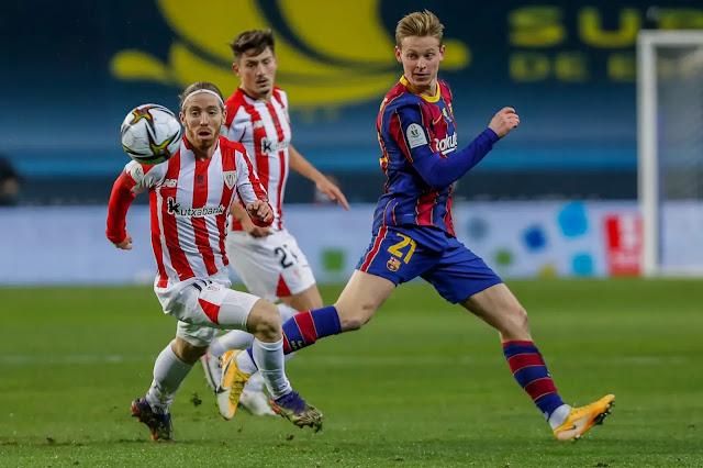 تتويج أتليتك بيلباو بكأس السوبر الإسباني على حساب برشلونة