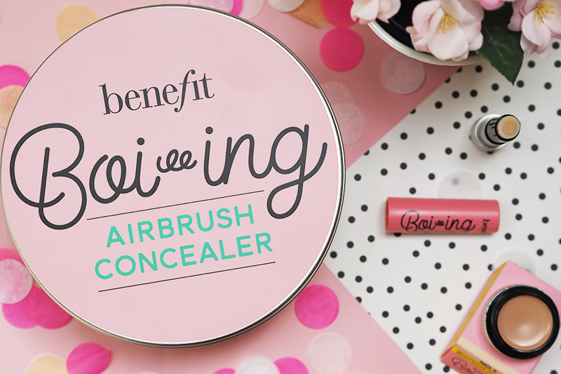 Benefit Boi-ing Concealer Review Airbrush Brightening Industrial Strength Hydrating | Colours and Carousels - Scottish Lifestyle, Beauty and Fashion blog