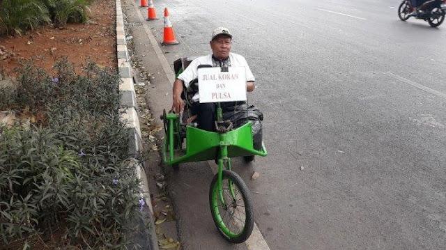 Suraji, Penyandang Disabilitas yang Ikhlas Menjadi Guru Ngaji