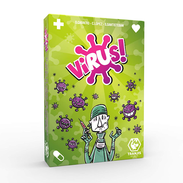 juego de cartas virus