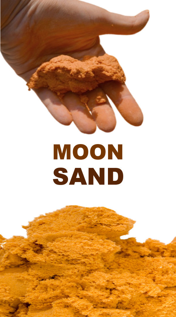 Make your own moon sand using this easy pumpkin recipe perfect for fall play #moonsandrecipe #pumpkinmoonsand #fallactivitiesforkids #playdoughrecipe #growingajeweledrose