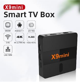 X9Mini - Android TV Box Murah