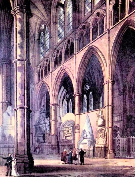 Westminster Abbey  from The Microcosm of London (1808-10)