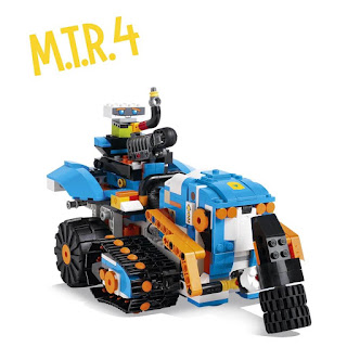 Lego Boost Creative Kit 17101 M.T.R.4 Review